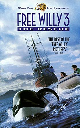 Free Willy 3: The Rescue (1997-2003 VHS)