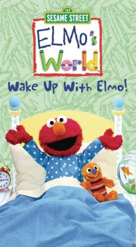 Elmo's World: Wake Up with Elmo! (2002 VHS)