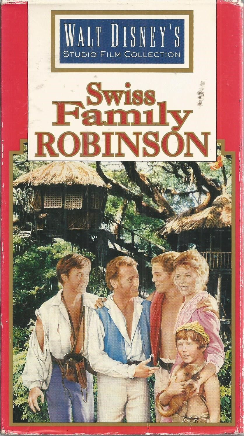 Swiss Family Robinson (1992-1997 VHS)