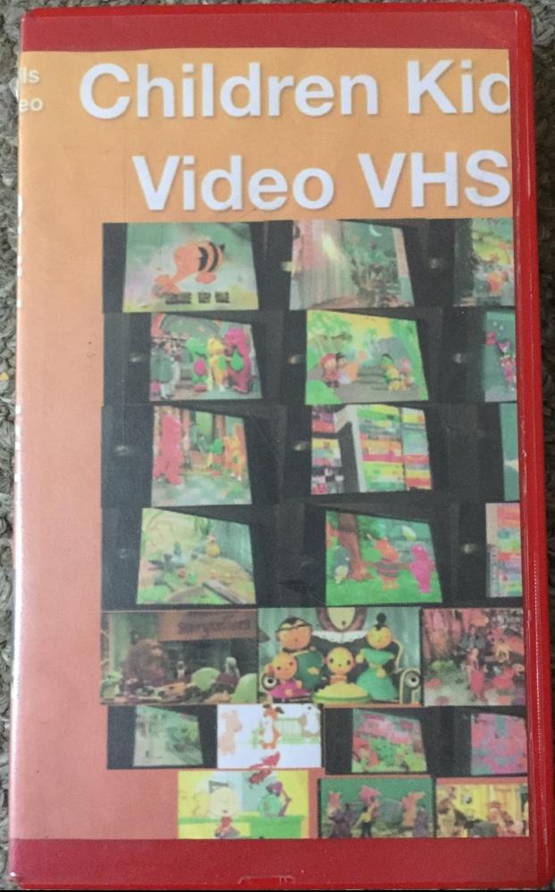 Children Kids Video VHS (2018 VHS)