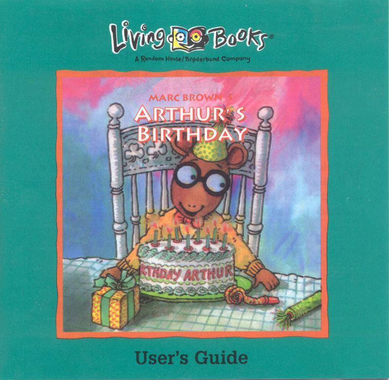 Arthur's Birthday (1994 PC Game)