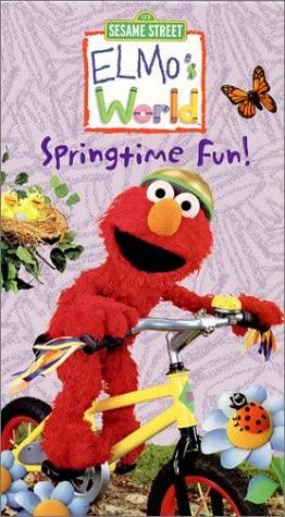 Elmo's World: Springtime Fun (2002 VHS)