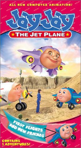 Jay Jay the Jet Plane: First Flights & New Friends (2002 VHS)