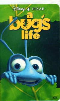 A Bug's Life (1999 VHS/DVD)