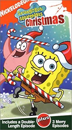 SpongeBob SquarePants: Christmas (2003 VHS)