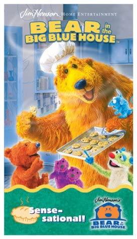 Bear in the Big Blue House: Sense-Sational! (2002 VHS)
