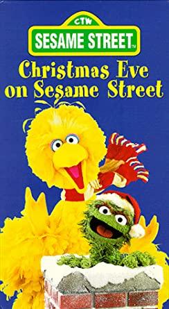 Sesame Street: Christmas Eve on Sesame Street (1987-1995 VHS)