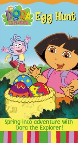 Dora the Explorer: Egg Hunt (2004 VHS)