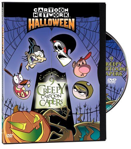 Cartoon Network Halloween: 9 Creepy Cartoon Capers (2004 DVD)