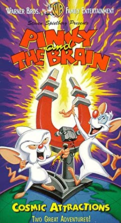 Pinky and the Brain: Cosmic Attractions (1997-2001 VHS)