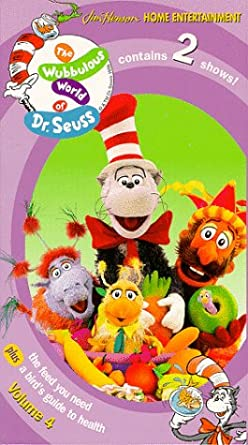 The Wubbulous World of Dr. Seuss: Volume 4 (1999 VHS)