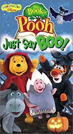 The Book of Pooh: Just Say BOO (2002 VHS)