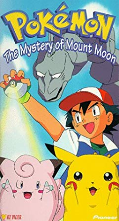 Pokemon The Mystery of Mount Moon (1999 VHS)