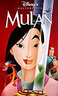Mulan (1998) (1999 VHS/DVD)