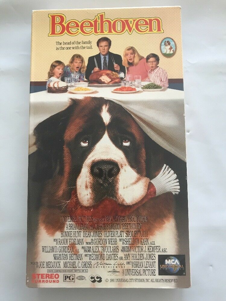 Beethoven (1992 VHS)