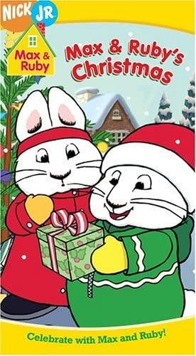 Max & Ruby: Max & Ruby's Christmas (2004 VHS)
