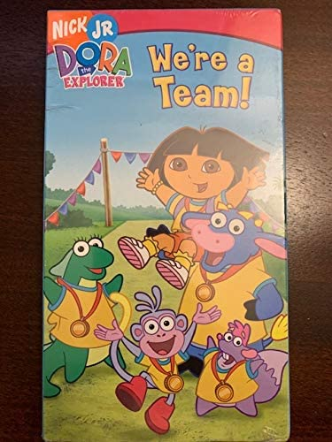 Dora the Explorer: We're a Team! (2006 VHS)