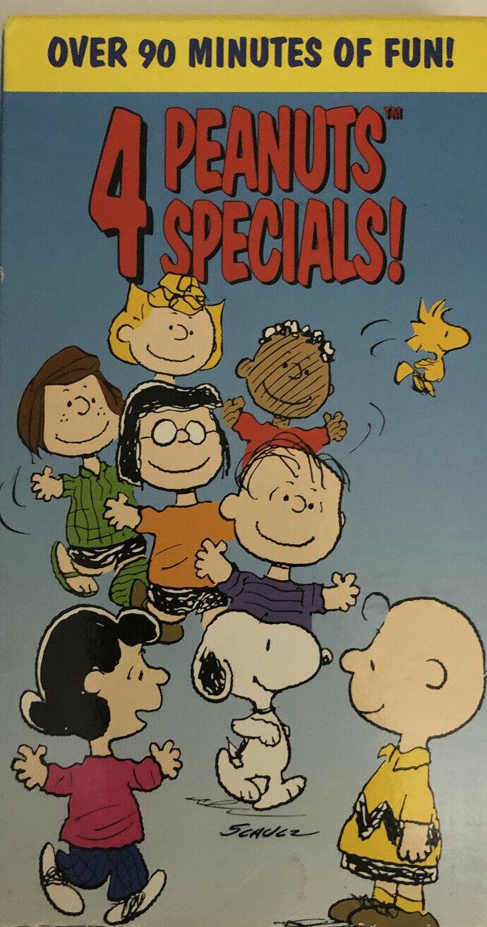 Peanuts: 4 Peanuts Specials! (1997 VHS)