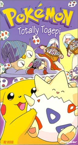 Pokemon Totally Togepi (2000 VHS)