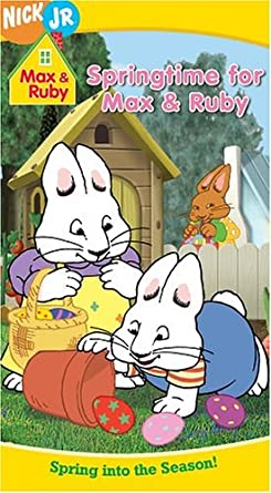Max & Ruby: Springtime for Max & Ruby (2005 VHS)