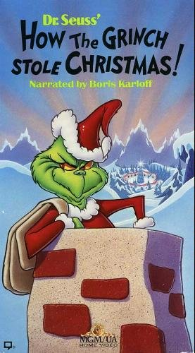 How the Grinch Stole Christmas (1988-1998 VHS)
