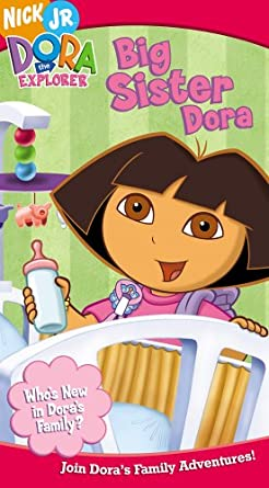 Dora the Explorer: Big Sister Dora (2005 VHS)