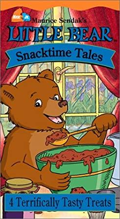 Little Bear: Snacktime Tales (2002 VHS)