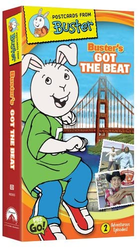 Postcards From Buster: Buster's Got the Beat (2005 VHS)