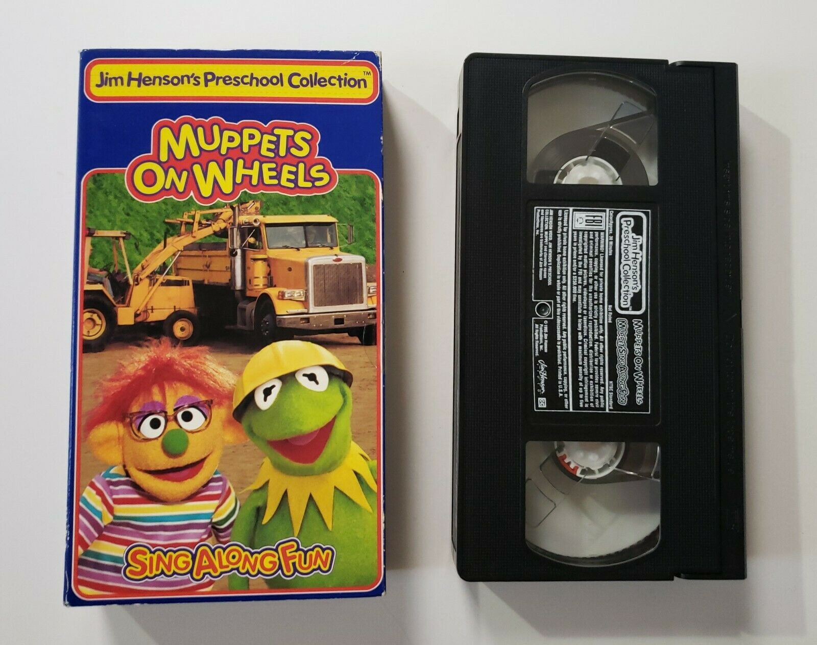 Muppets on Wheels (1995 VHS)