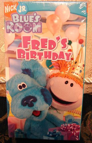 Blue's Room: Fred's Birthday (2006 VHS)