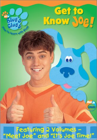 Blue's Clues: Get to Know Joe! (2002 DVD)