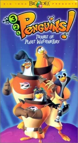 3-2-1 Penguins!: Trouble on Planet Wait-Your-Turn (2000 VHS)