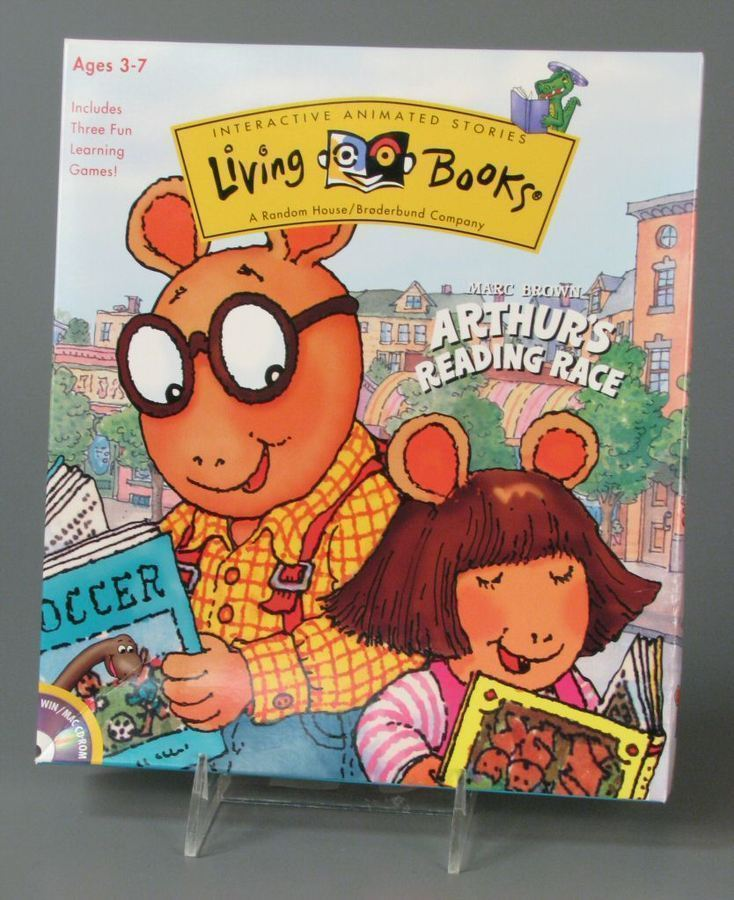 Arthur's Reading Race (1997 PC Game)