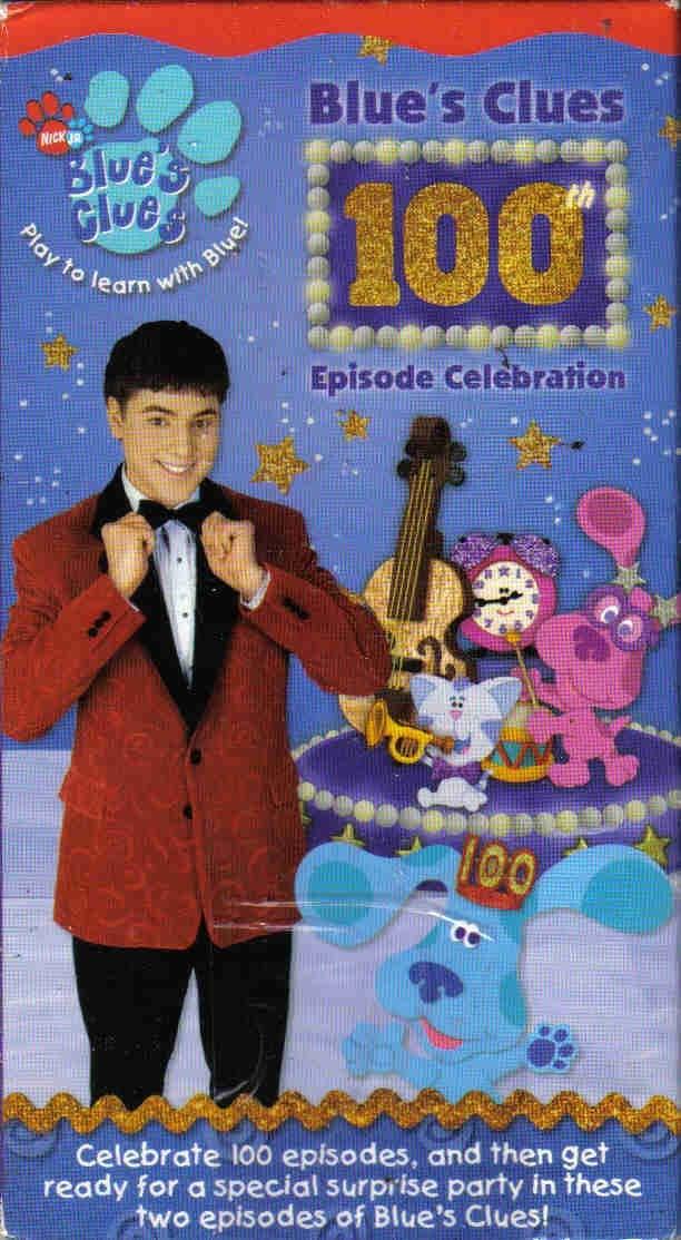 Blue's Clues: 100th Episode Celebration (2003 VHS)
