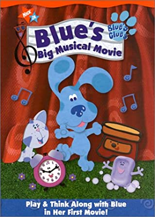 Blue's Clues: Blue's Big Musical Movie (2000 DVD)