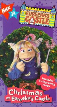 Eureeka's Castle: Christmas at Eureeka's Castle (1997 VHS)