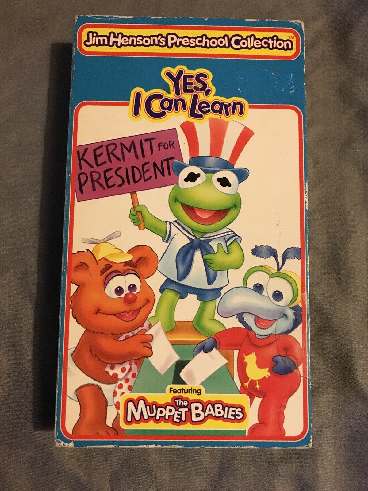 Muppet Babies: Yes, I Can Learn (1995 VHS)