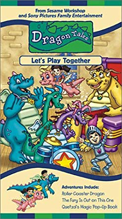Dragon Tales: Let's Play Together! (2001 VHS)