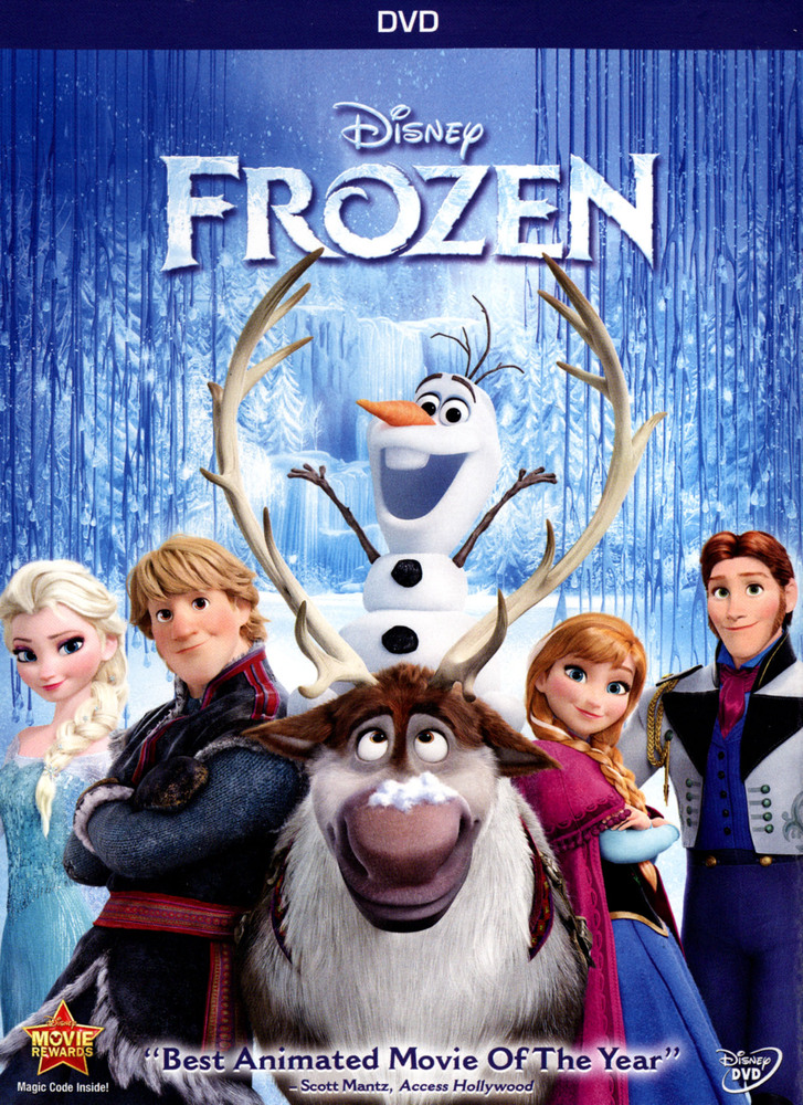 Frozen (2014 DVD)