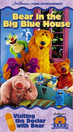 Bear in the Big Blue House: Visiting the Doctor with Bear (2000 VHS)