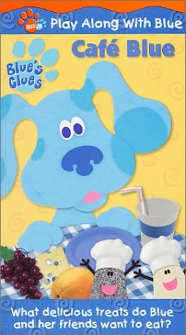 Blue's Clues: Cafe Blue (2001 VHS)
