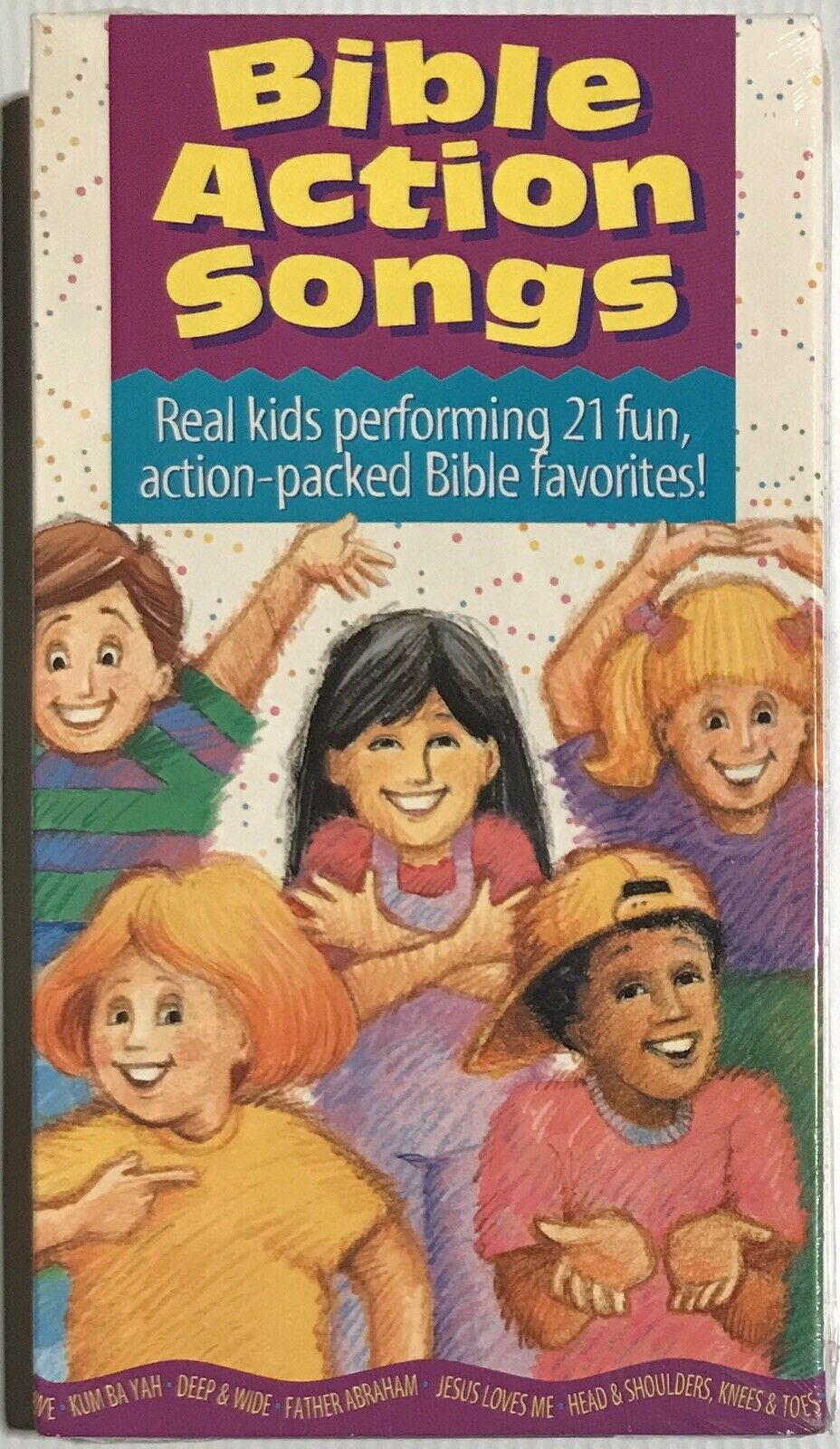 Bible Action Songs (1994 VHS)