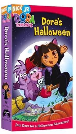 Dora the Explorer: Dora's Halloween (2004 VHS)
