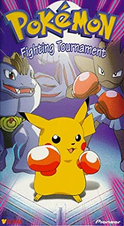 Pokemon Fighting Tournament (1999 VHS)