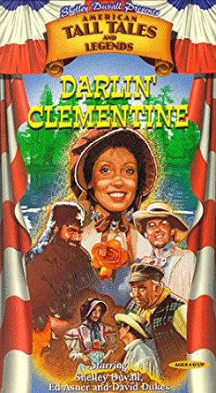 Shelley Duvall's American Tall Tales & Legends: Darlin' Clemetine (1998 VHS)