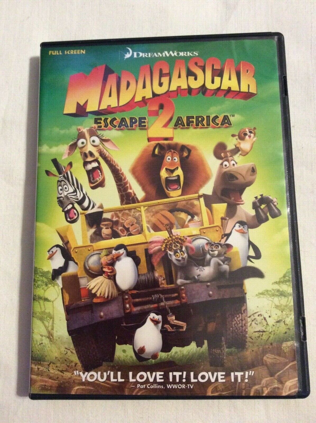 Madagascar Escape 2 Africa (2009 DVD)