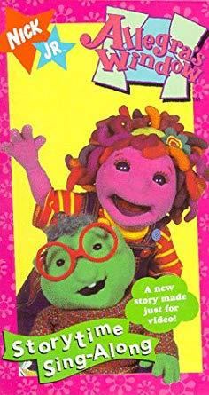 Allegra's Window: Storytime Sing Along (1996 VHS)
