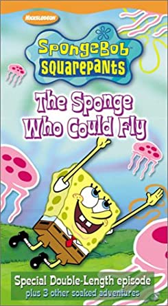 SpongeBob SquarePants: The Sponge Who Could Fly (2003 VHS)