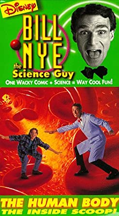 Bill Nye The Science Guy: The Human Body: The Inside Scoop! (1994 VHS)