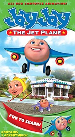 Jay Jay the Jet Plane: Fun To Learn! (2002 VHS)